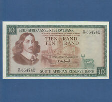 SOUTH AFRICA 10 Rand (1975) Replacement W  aUNC P.114c