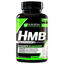 HMB NUTRAKEY HMB 90 CAPSULES STRENGTH AND RECVOERY DIETARY SUPPLEMENT