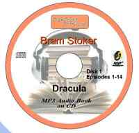 Dracula  - Bram Stoker MP3 Audio Book on 2 CDs