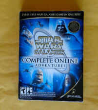 Star Wars Galaxies: The Complete Online Adventures - PC (New Factory Sealed box)