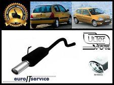 SILENCIEUX POT D'ECHAPPEMENT RENAULT CLIO II 1998-2002 2003 2004 2005 TIP 95x65