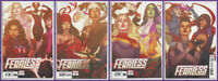 FEARLESS #1 2 3 4 JENNY FRISON CONNECTING VARIANT SET Avengers X-Men 2019 NM- NM
