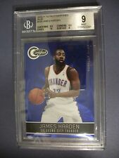 JAMES HARDEN 2010-11 Totally Certified Blue #129 BGS MINT 9 Thunder,Rockets /299