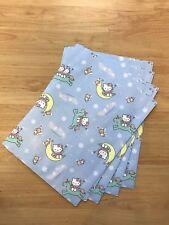 Sanrio Hello Kitty Holiday Unicorn Moon Light Blue 10pc Paper Gift Bags