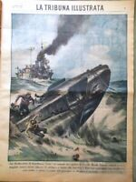 La Tribuna Illustrata 8 Marzo 1942 WW2 Circe Tito Livio Pugilato Rocca Birmania