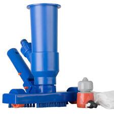 Robot pulitore di fondo piscina GRE kit pulizia acqua con ruote