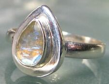 Handmade Natural Labradorite Fine Rings