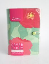 Filofax Multi 2019 Personal Organiser Cover Story Primrose Cotton Twill Canvas