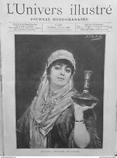 1889 UI3/8 Almee Bayadere Cuadro Sichel Fino Artes
