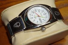 Nixon Small Don Womens 100M WR All Stainless Steel Watch w/ White Dial