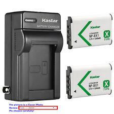 Kastar Battery Wall Charger for Sony NP-BX1 BC-CSX & Sony Cyber-shot DSC-WX350