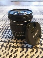 Canon EF-S 10-18mm Image Stabiliser F4.5-5.6 IS STM Zoom Lens