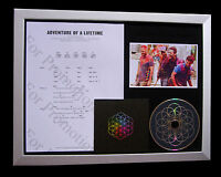 COLDPLAY Adventure Lifetime TOP QUALITY MUSIC CD FRAMED DISPLAY+FAST GLOBAL SHIP
