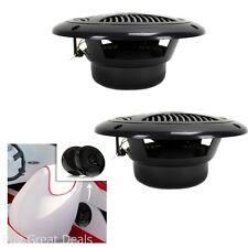 Waterproof 2 Way 6.5In Marine Speakers 150W Pair Coaxial Dual Cone Audio Stereo