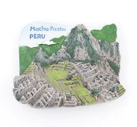 3D Resin Fridge Magnet Machu Picchu Peru Tourist Souvenir Gift Brand New