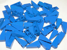 Lego 50 x Dachstein 1x3 Blau Dachsteine