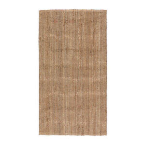 IKEA LOHALS Rug,Flatwoven Natural Colour,3 Sizes,100% Jute,Durable & Recyclable