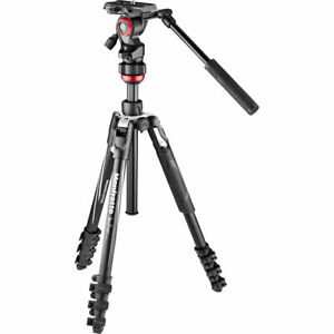 Manfrotto Befree Live Video Tripod Kit with Lever-Lock Mfr # MVKBFRL-LIVE