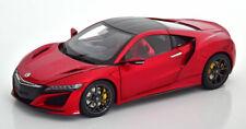 1:18 kengfai Honda Acura NSX redmetallic/CARBONIO