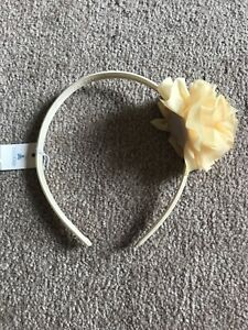 Yellow Newborn Headband Yellow Headbands Yellow Baby Headbands Yellow Flower Headband Yellow Shabby Chic Headbands Spring Headband