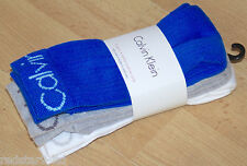 CALVIN KLEIN MENS WHITE COOL MAX SPORTS SOCKS 3 PACK RRP £20 EU 41-46 UK 7-11