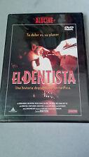 "DVD ""EL DENTISTA"" PRECINTADA BRIAN YUZNA STUART GORDON ALUCINE"