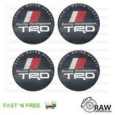 56mm TRD Alloy Wheel Centre Cap Overlay Stickers for Toyota MR2 Glanza Celica