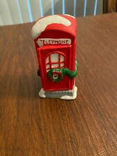 Dickens Collectables Accessories Telephone Booth 1994
