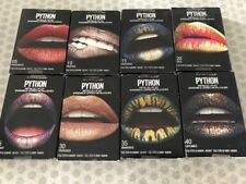 Lot of 8, Maybelline Python Metallic Lip Kit