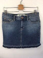 GAP Denim Mini Skirt Cotton Stretch Size 6 Blue Jean Skirt
