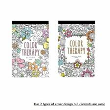Post Cards Set 32 Designs Coloring Book for Adult Relaxation Color Therapy Art