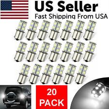 20x Super White 1156 1141 13 Smd Rv Camper Trailer Led Interior Light Bulbs 12v