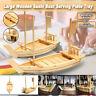 Large Wooden Japanese Sushi Boat Serving Plate Tray Sashimi Serving Tray 2