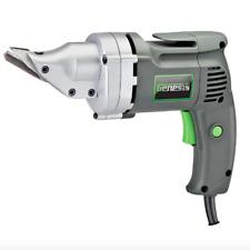 Genesis Swivel Head Sheet Metal Shear Cutter Tool Variable Speed 3 Blade Cutting