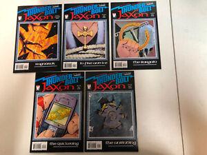 Thunderbolt Jaxon (2006) #1 2 3 4 5 1-5 (VF/NM) Complete Set John Higgins art