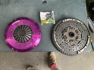 FORD FOCUS XR5 TURBO SINGLE MASS FLYWHEEL XTREME RACE CLUTCH HAS SOME WEAR