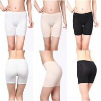 Women Safety Shorts Pants Leggings Seamless High Waist Plain Elastic Underwear