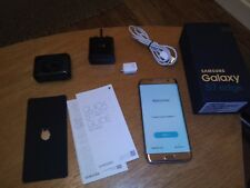 BOXED Samsung Galaxy S7 edge SM-G935F -32GB Gold Platinum (Vodafone) Smartphone
