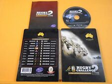 ps3 RUGBY CHALLENGE 2 The Lion's Tour STEELBOOK Edition PAL UK REGION FREE Lions
