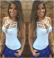 Sexy Women's Summer Vest Top Sleeveless Blouse Casual Tank Tops T Shirt