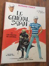 Hermann / Greg Bernard Prince Le général Satan et les pirates de Lokanga EO 1969