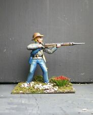 1/32 CONFEDERATE SOLDIER #10 - Hand Painted Based- 54mm  Plastic -   ACW - AIP