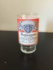 Vintage Budweiser King Of Beers Anheuser-Busch, Inc Beer Glass
