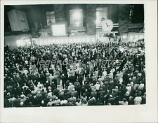 1963 John F. Kennedy Funeral Large Screen View Original New Service Photo