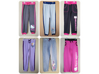 *NWT- HELLO KITTY, DISNEY - GIRL'S SWEAT JOGGER PANT - LICENSED - SIZE: XS - XL