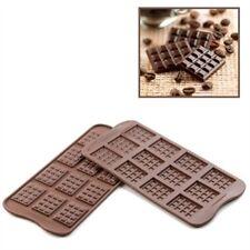 Silikomart Stampo in Silicone per Cioccolatini forma di Mini Tablette Barrette