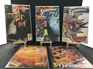 DC Superman Issues 189-193 (2003) Bagged & Boarded