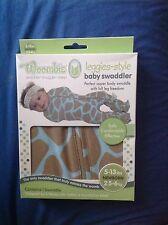Woombie Leggies-style baby swaddler Newborn 2.5-6kg