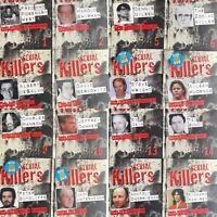 Serial Killers Book & DVD Set Discovery Channel Documentary CHOOSE YOUR TITLE