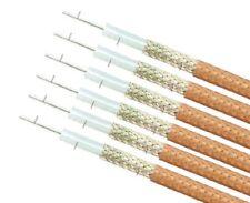 RG178 RG178A/U Mil Spec M17/93 Cable Coaxial de 50 ohmios 1 Mtr Longitud